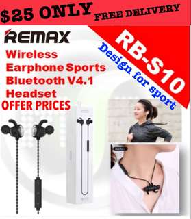🚚 Remax RB-S10 Bluetooth Earpiece NOW $25 ONLY