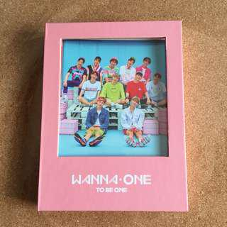 """Wanna One """"To Be One"""" (pink ver)"""