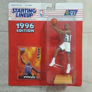 "Legit Brand New Sealed NBA Kenner Starting Lineup 6"" Grant Hill Detroit Pistons Toy Figure"