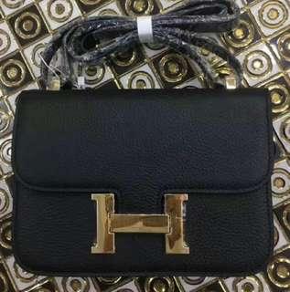 Hermes Constance Epsom leather
