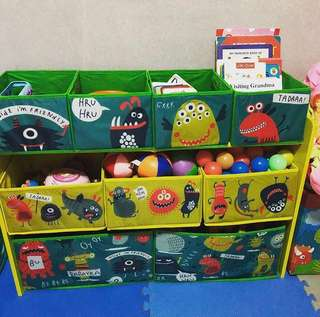 Toy organizer toy storage