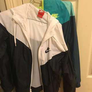 NIKE windbreaker jackets vintage