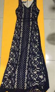 Brand New Lace Dinner Dress (Long)