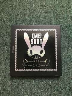 🚚 B.A.P the 2nd mini album-ONE SHOT