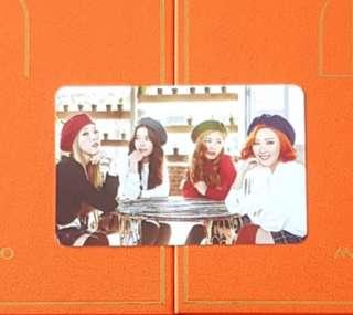 WTT Mamamoo Melting photocard
