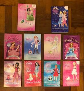 The Tiara Club princess books by Vivien French
