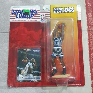 """Legit Brand New Sealed NBA Kenner Starting Lineup 6"""" Shaquille O'Neal Orlando Magic Toy Figure"""