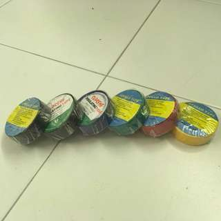 Insulating tape/ black tape (all colours)