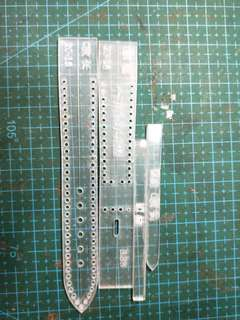 20mm watch strap template