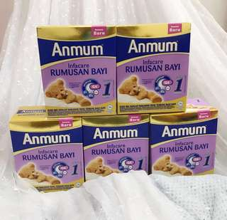 Anmum Milk Powder (1-12m) (Buy 4 free 1)