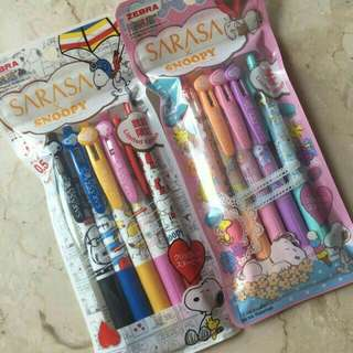 Sarasa Snoppy Full Set
