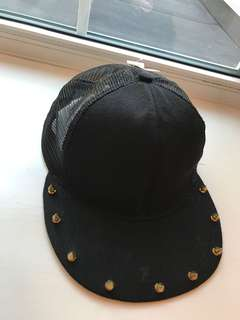 Spiked Punk Snapback Hat