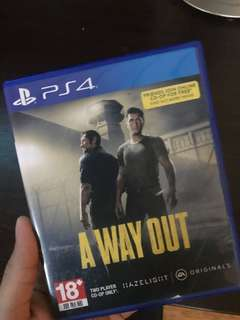 A way out (PS4 USED)