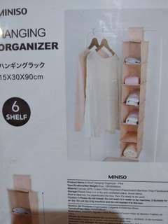 Miniso hanging organizer