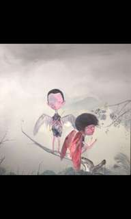 🚚 Chinese contemporary painting