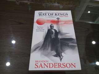 Brandon Sanderson's Way of Kings Part Two