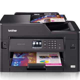 6 Months old BROTHER Wifi: Print / scan / fax / *prints up to A3 size * USB direct Print 2 Y & 6 Months Warranty Left