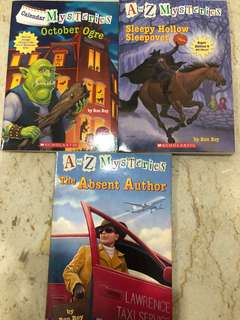 A to Z Mysteries - October Ogre/ The Absent Author/ Sleepy Hollow Sleepover