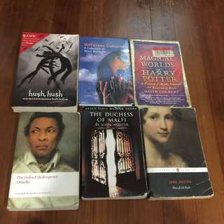 ASSORTED BOOKS see price in description