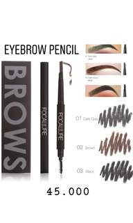 Eyebrow pencil (pensil alis) with brush