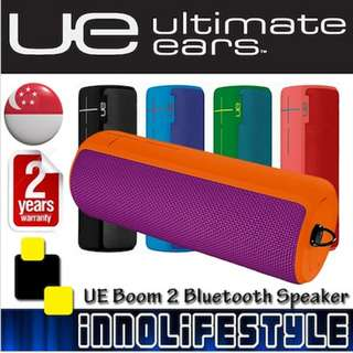 ★Free Shipping★ Logitech UE Boom 2 360° Wireless Bluetooth Speaker. ★2 Years Warranty★