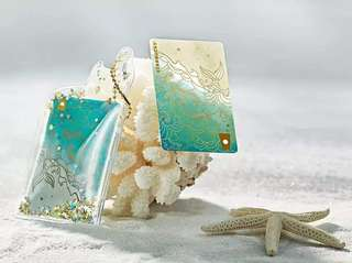 Mermaid tail pouch + China card pin closed