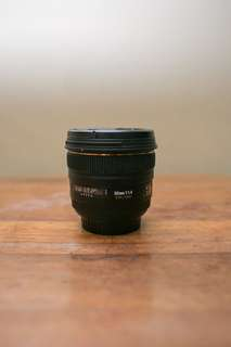 Sigma 50mm f1.4 canon mount