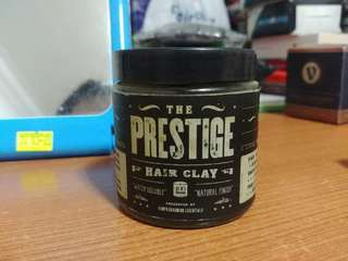 Prestige Hair Clay (Oil Based)