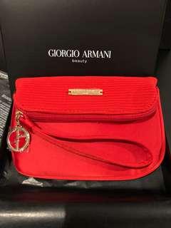 Giorgio Armani Cosmetic Pouch Bag