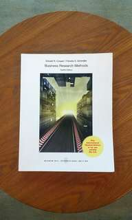 Business research methods brand new business textbook