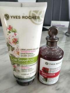 Yves Rocher Low Shampoo & Rinsing Vinegar