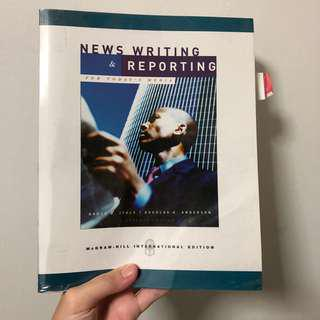 News writing and reporting (7th Ed)
