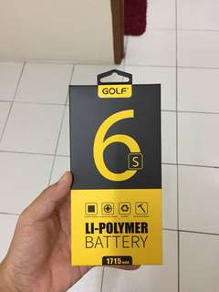 iPhone 6s golf battery brand new