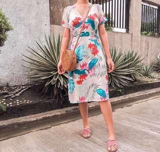 Breeze wrap dress