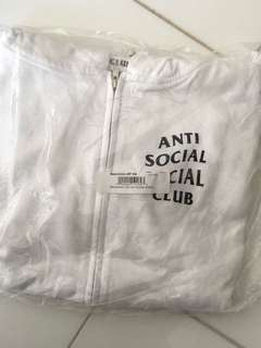 Anti Social Social Club Zip Up Hoodie Jacket