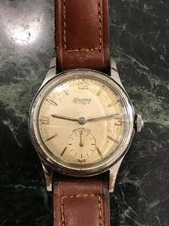 1950s Swiss Sylvana gents handwind watch