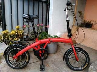 """Sepeda lipat ukuran 16"""""""