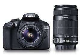 Canon 1500D with 18-55mm Lens + 16GB Memory Card