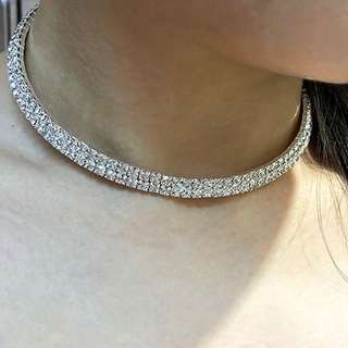 Diamond Medium choker necklace