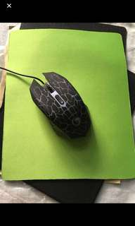 Mouse pad foldable