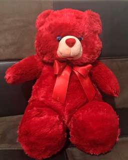 Blue magic red bear
