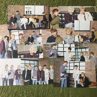 BTS Mediheal Official Photocards