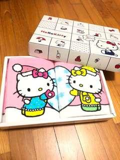 BN Hello Kitty face towel
