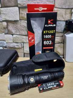 Klarus XT12GT used