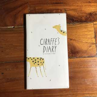 CASH BOOK (giraffe's diary)