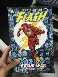 The flash - rouge war TPB