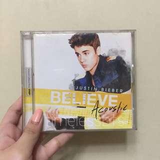 Justin Bieber Believe Acoustic Album