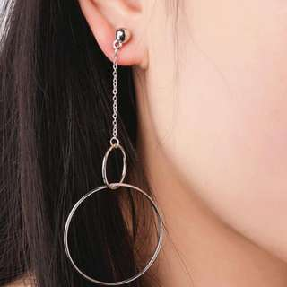 Elegant Bangle Hoop Earrings