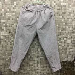 🚚 灰色燈芯絨長褲