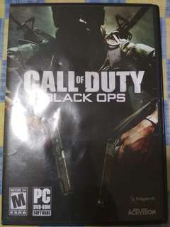 Authentic pre-owned Call Of Duty Black Ops PC game!